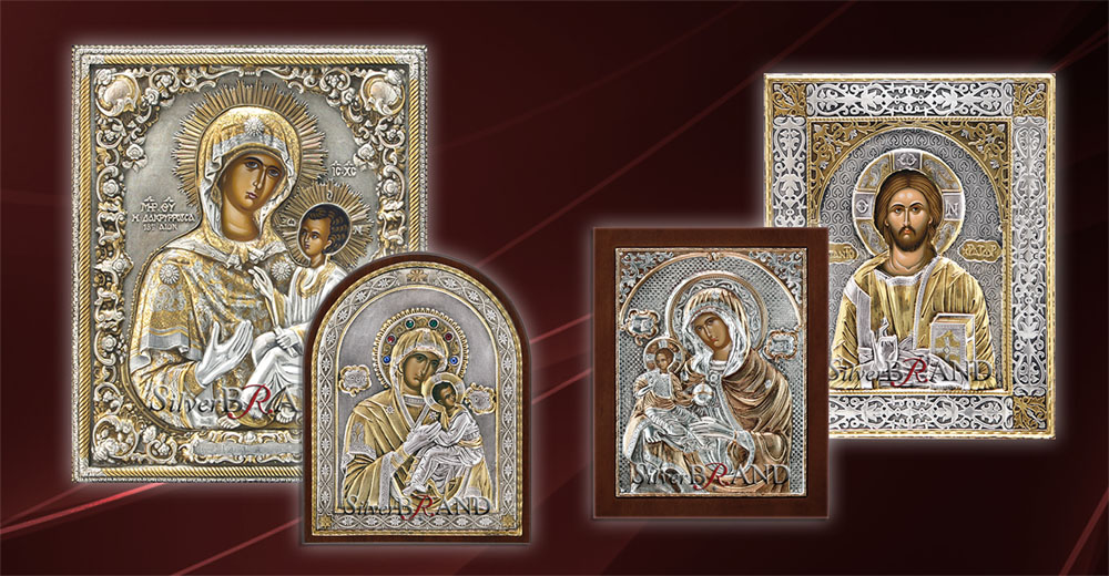 Byzantine Silver Icons